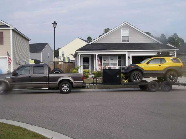 Would You Tow A 35 Car Hauler With A F250 Ford Truck
