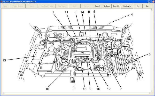 wiring diagram isuzu vehicross tod diagrams isuzu auto. Black Bedroom Furniture Sets. Home Design Ideas