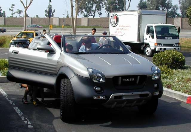 Isuzu vehicross convertible