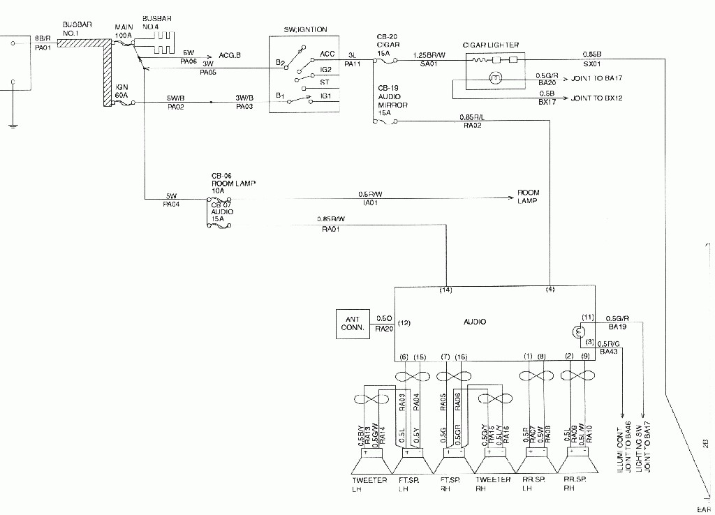 isuzu vehicross wiring diagram isuzu wiring diagrams online isuzu vehicross wiring diagram